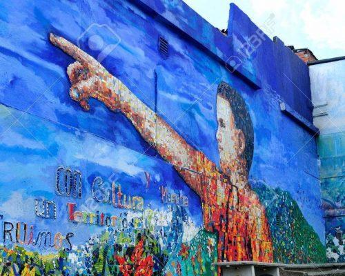 Moravia urbano mural